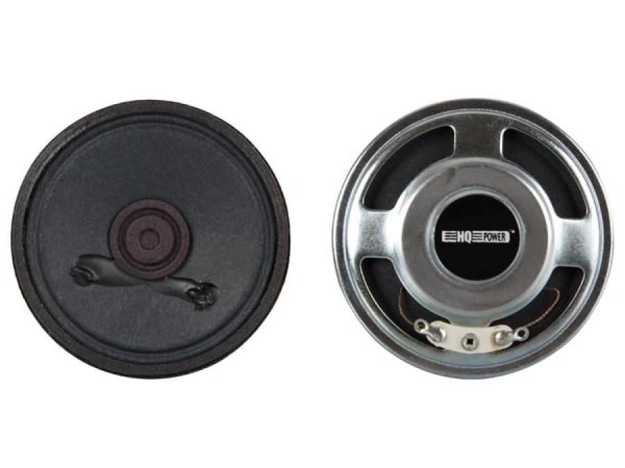 MINI LOUDSPEAKER - 2W / 8 ohm - Ø 101mm