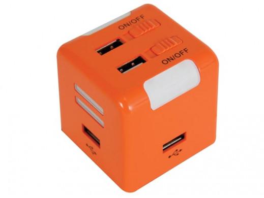 GNIAZDO USB 2.0 / 4 PORTY /...