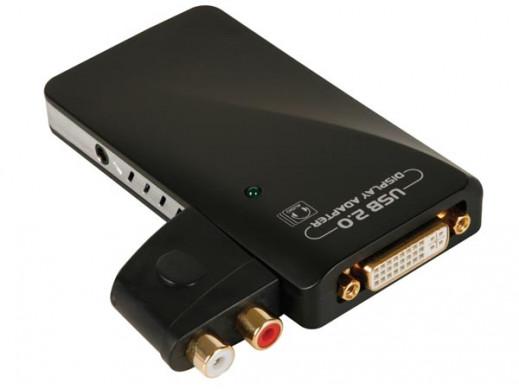 Adapter USB na DVI...