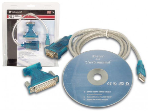ADAPTER USB / PORT SZEREGOWY