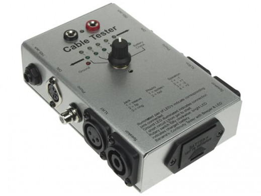 TESTER KABLI AUDIO