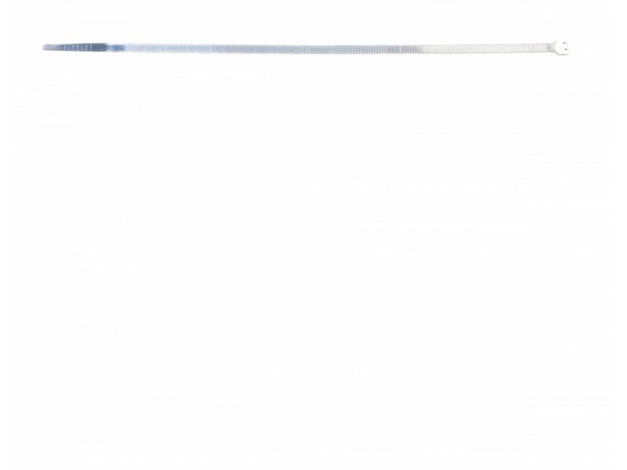 Opaski zaciskowe 2.5mm/10cm białe