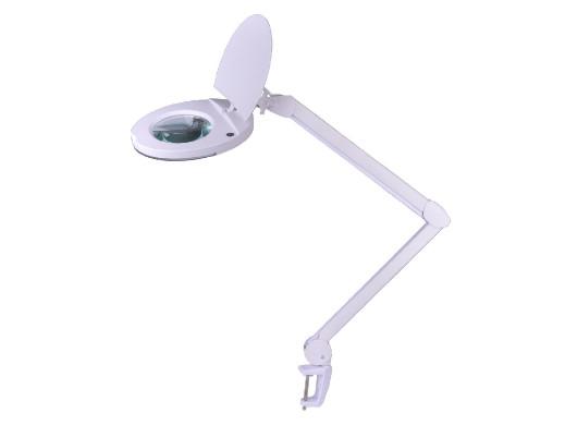 Lampa warsztatowa z lupą 5D...