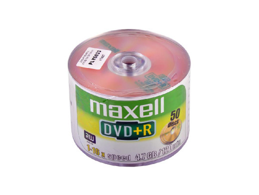 DVD+R MAXELL 4.7GB 16X...