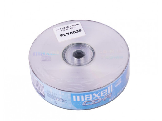 CD-R MAXELL 700MB 52x SP....