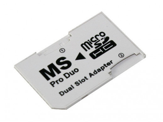 Adapter micro SD dual...