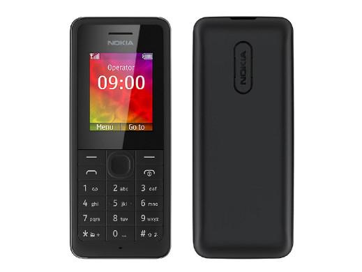 Telefon Nokia 106 czarny