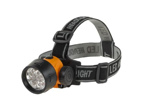 Latarka czołowa 17-LED...
