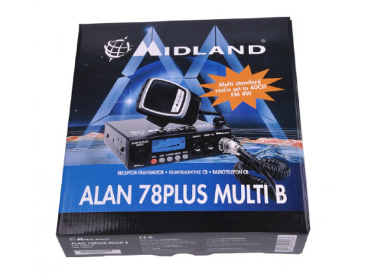 Radio CB ALAN 78 PLUS MULTI