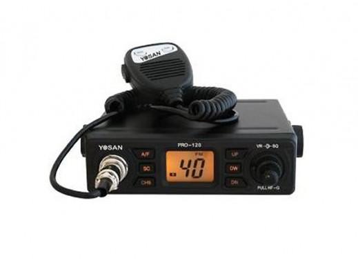 Radio CB YOSAN PRO-120...