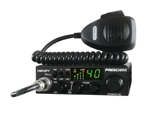 Radio CB PRESIDENT HENRY...