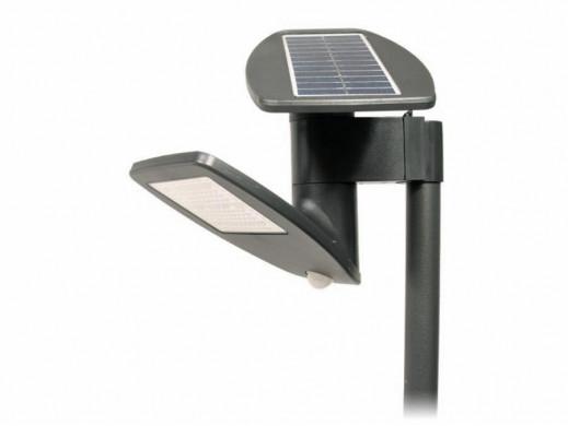 Lampa LED solarna ścienna z...