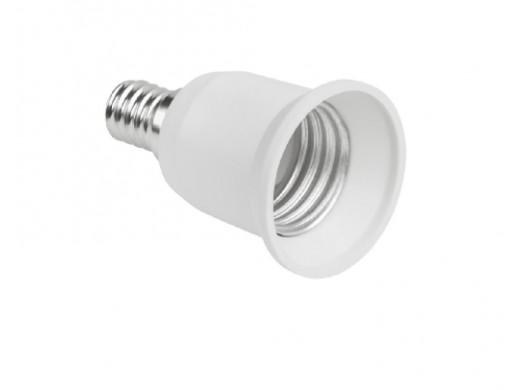 Adapter żarówki E14/E27
