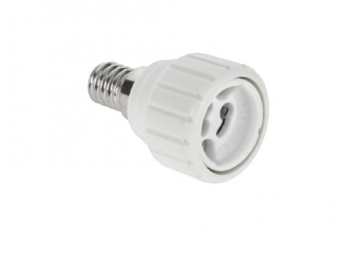 Adapter żarówki E14/GU10