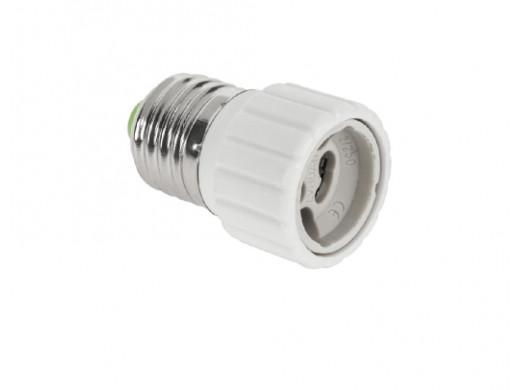 Adapter żarówki E27/GU10