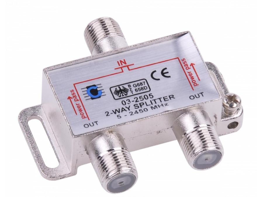 Splitter 2way 5-2450MHz