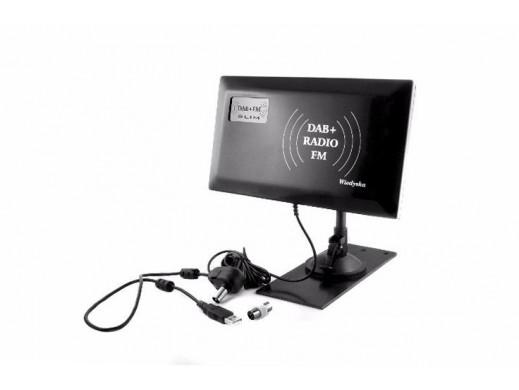 Antena FM+DAB SLIM radiowa...