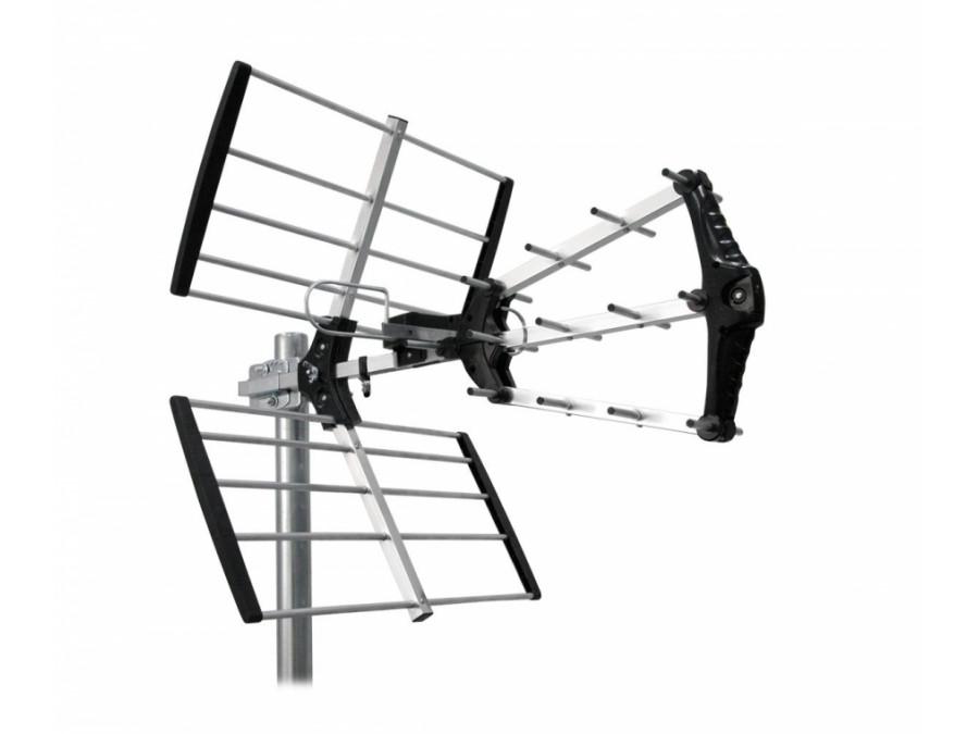 Antena zewnętrzna kierunkowa aktywna do cyfrowej telewizji naziemnej DVB-T Cabletech model ANT0575 (