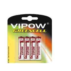 Baterie VIPOW GREENCELL R03 4szt/bl