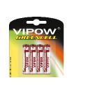 Baterie VIPOW GREENCELL R03 4szt/bl