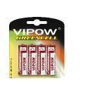 Baterie VIPOW GREENCELL R6 4szt/bl