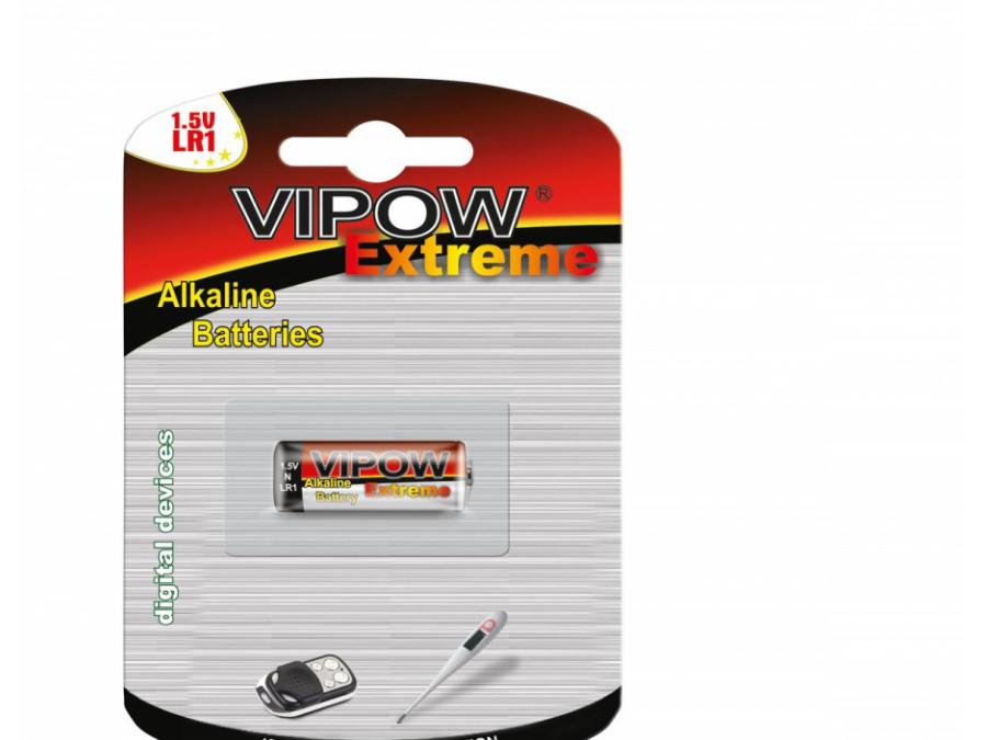 Bateria alkaliczna VIPOW EXTREME LR1 1szt/bl