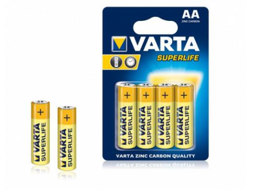 Bateria VARTA R06 SUPERLIFE...