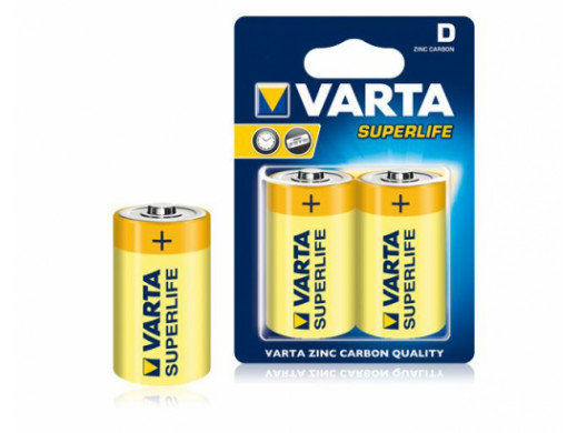 Bateria VARTA R20 SUPERLIFE...