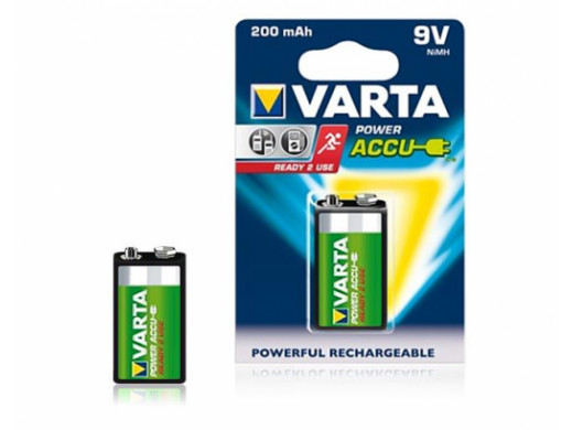 Akumulator Varta 9V 200mAh