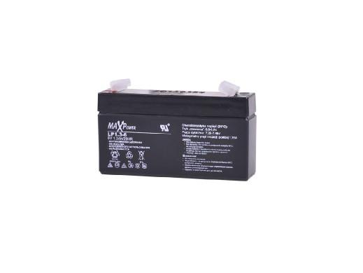 Akumulator żelowy 6V 1.3Ah...