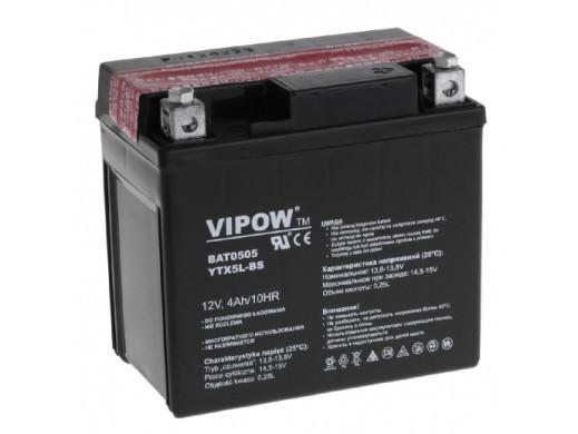 Akumulator VIPOW 12V 4Ah