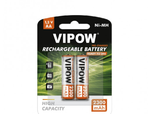 Akumulatorki VIPOW HR6 2300...