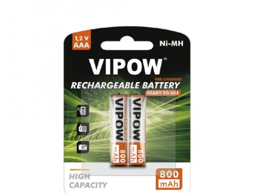 Akumulatorki VIPOW HR3 800...