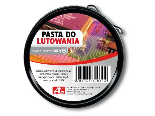 Pasta lutownicza 100g AG