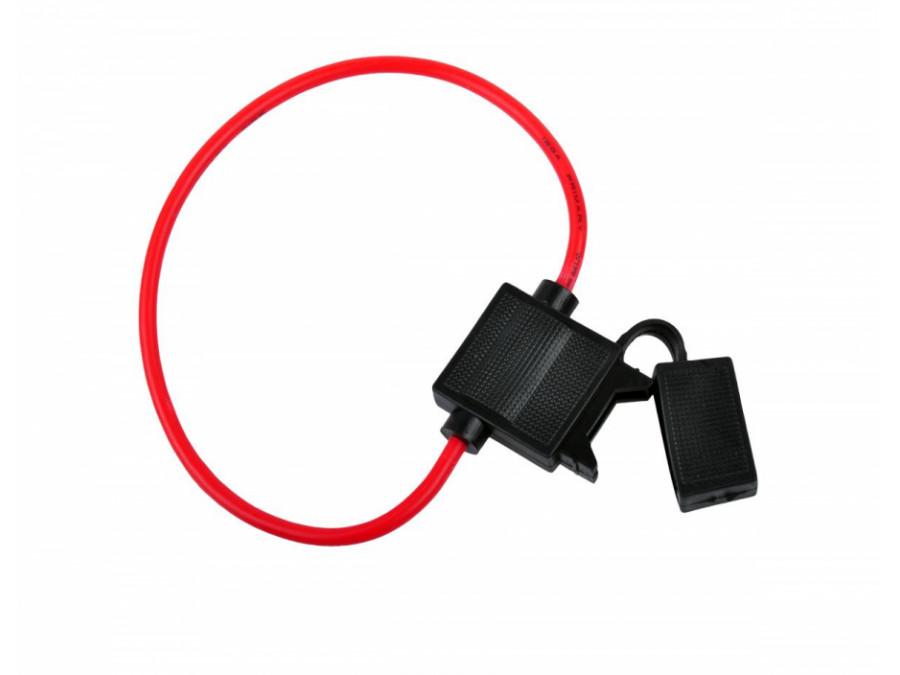 Gniazdo bezpiecznika nożowego (20mm)  30cm 5mm