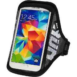 SOX opaska sportowa na smartfon RUN AWAY S/M 25-33cm czarna