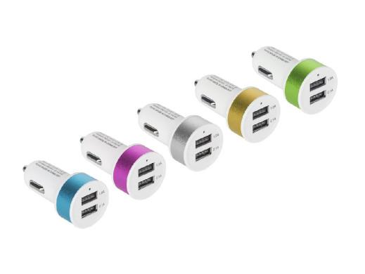 ŁADOWARKA SAMOCHODOWA USB...