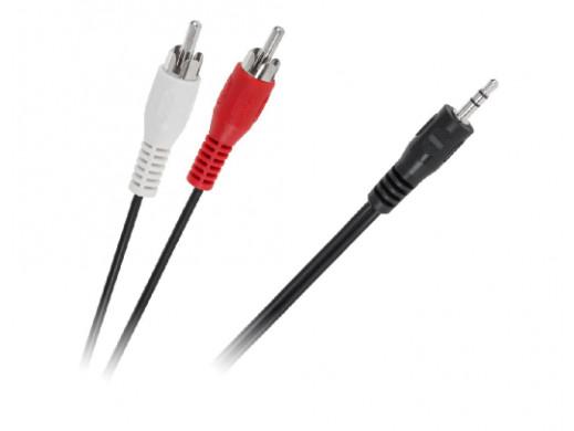 Kabel JACK 3,5-2 x RCA 3m