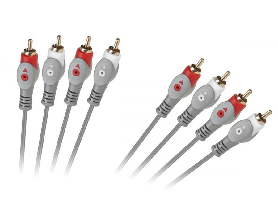 Kabel 4RCA-4RCA 1.8m