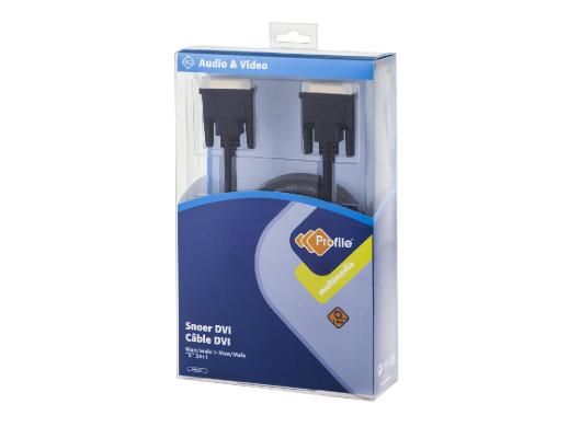 Kabel DVI-DVI 1.8M