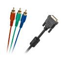 Kabel DVI (24+5) - 3RCA 3M