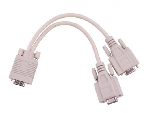 Adapter VGA (15pin męski)...
