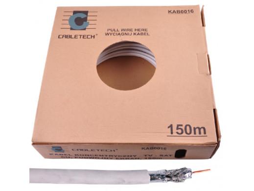 Kabel CABLETECH TV-SAT CU +...