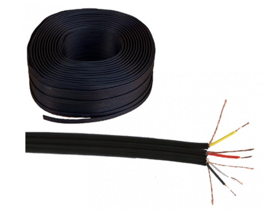 Kabel 4 x RCA CZARNY