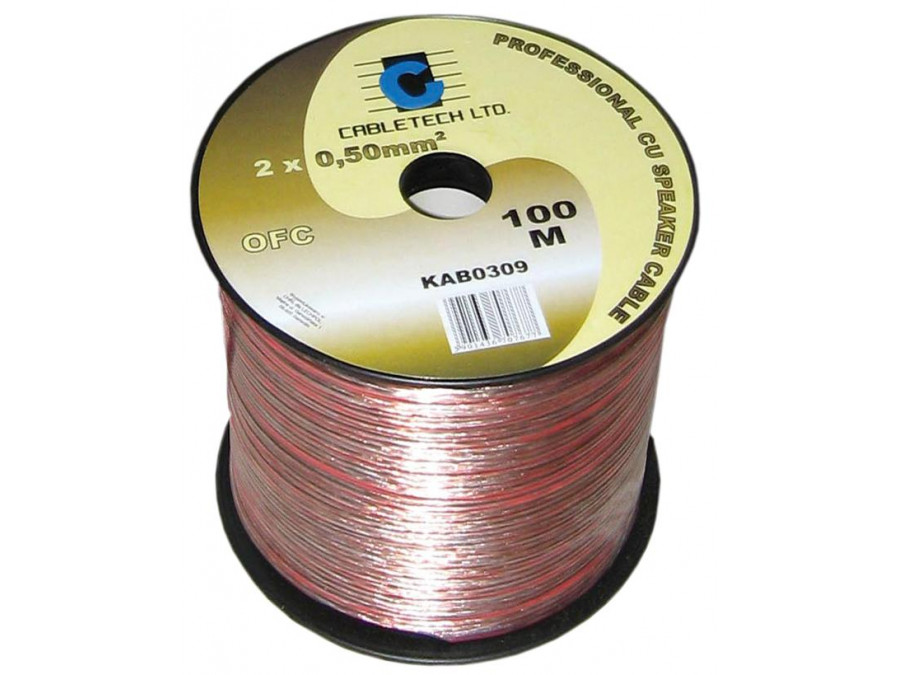 Kabel głośnikowy OFC 0,5mm