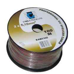 Kabel głośnikowy 1,0mm czarny