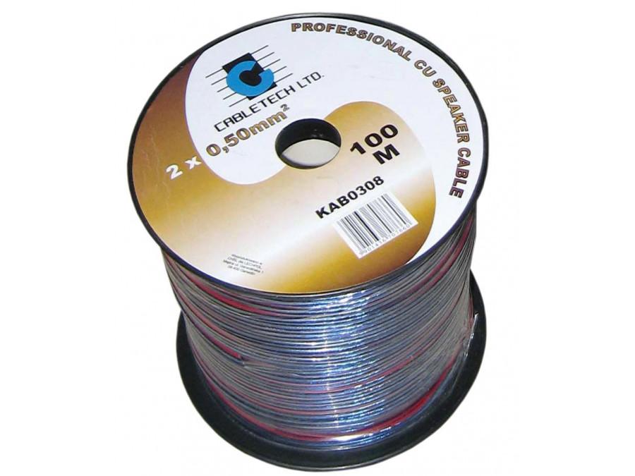 Kabel głośnikowy 1,0mm niebieski