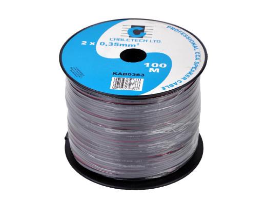 Kabel głośnikowy CCA 0.35mm...