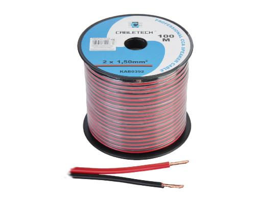 Kabel głośnikowy CCA 1.5mm...