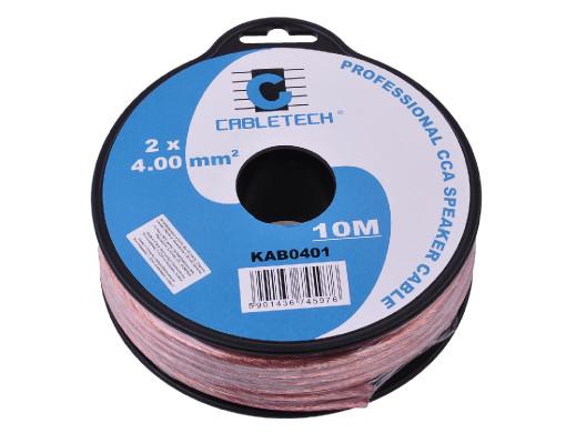 Kabel głośnikowy CCA 4.0mm...